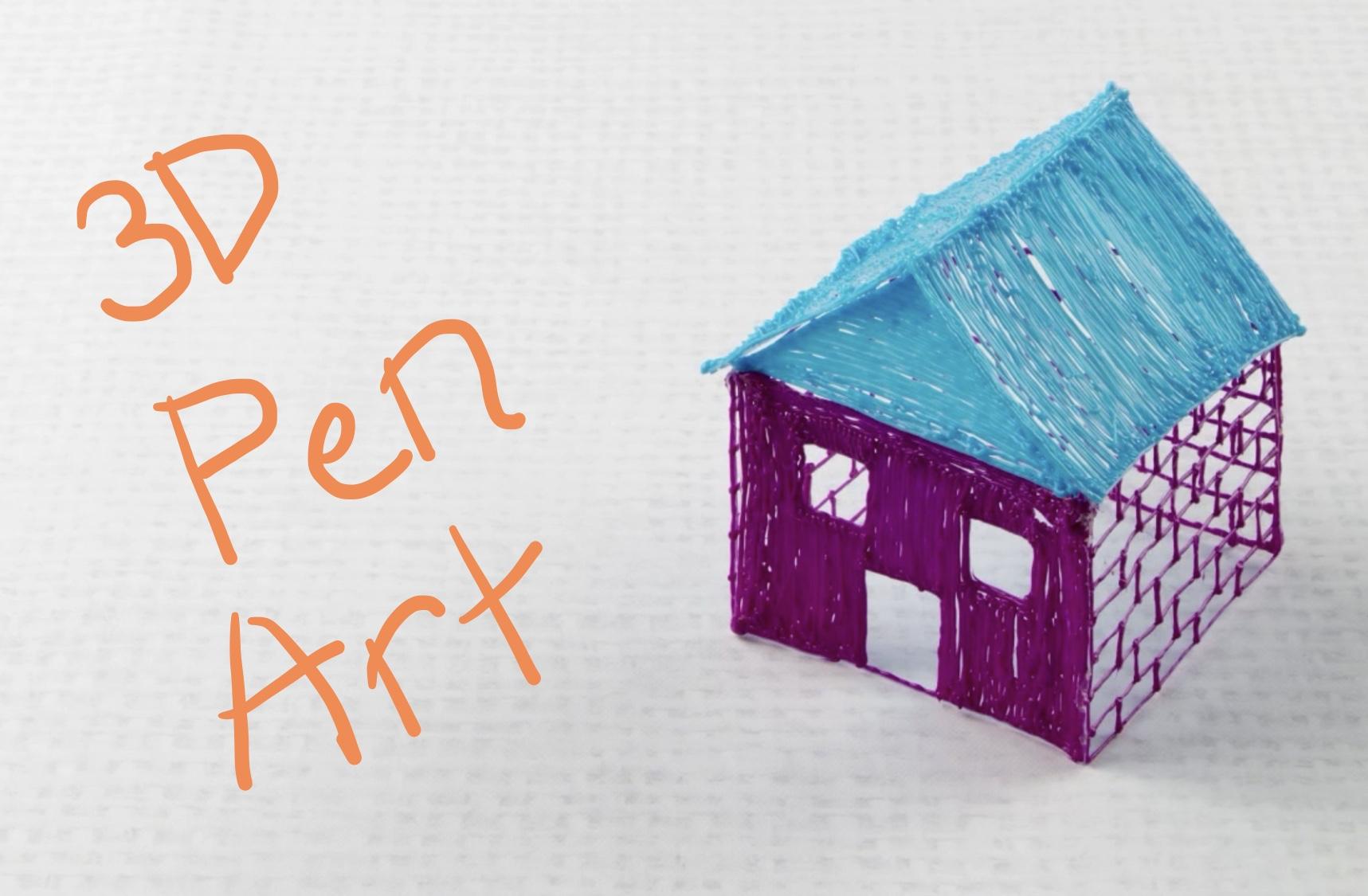 3d pen, 3d printing, summer camp, 3d art, inventors