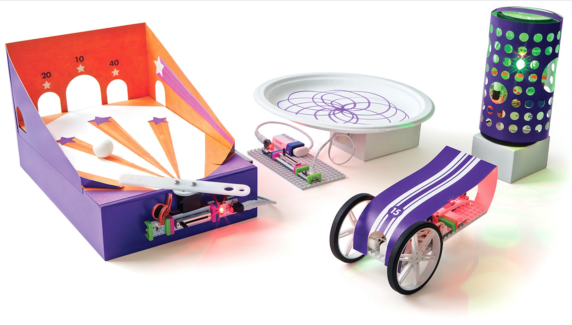 littleBits, summer camp, inventors