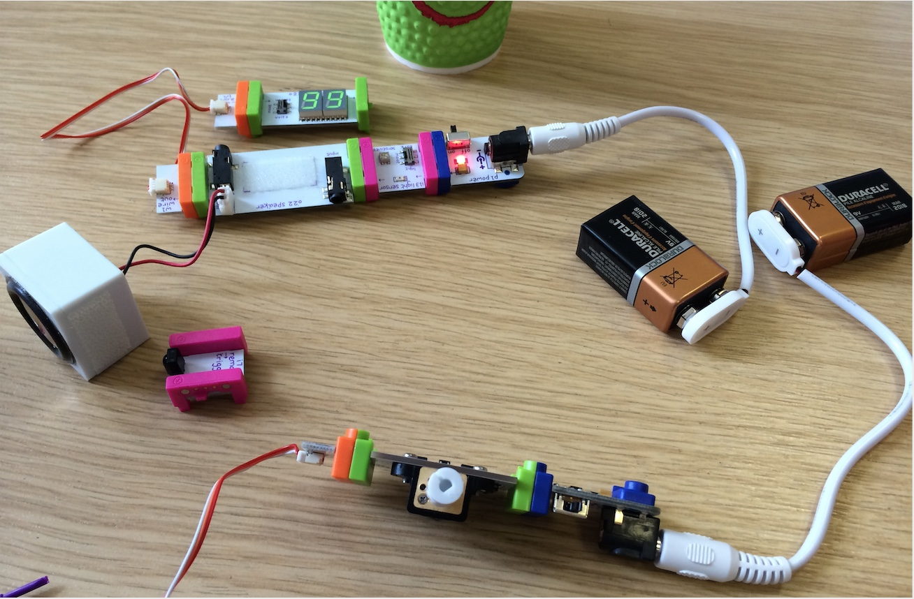littleBits, summer camp, inventors